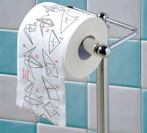toilet paper roll origami origami toilet paper ohgizmo