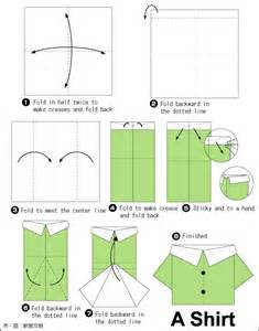 how to make an origami shirt origami shirt oragami