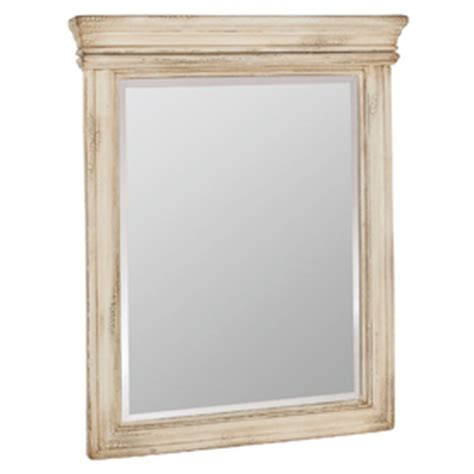 antique white bathroom mirror lowes estate by rsi broadway java antique white