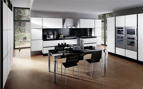 black and white kitchens 30 black and white kitchen design ideas digsdigs