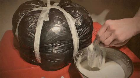 paper mache craft ideas for adults diy paper mache pumpkin how to