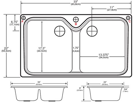 standard kitchen sink depth amazing dimensions of kitchen sink standard kitchen sink