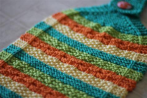 knit towel pattern stripes kitchen towels set by allysond craftsy