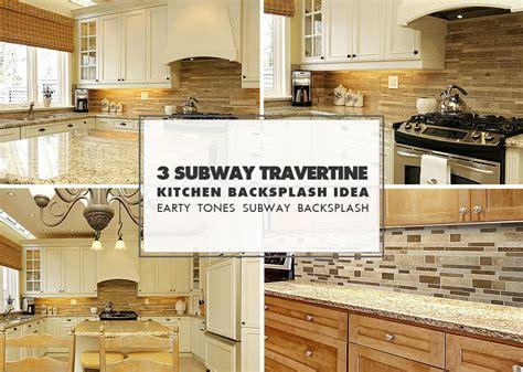 subway kitchen backsplash brown travertine backsplash tile subway plank backsplash
