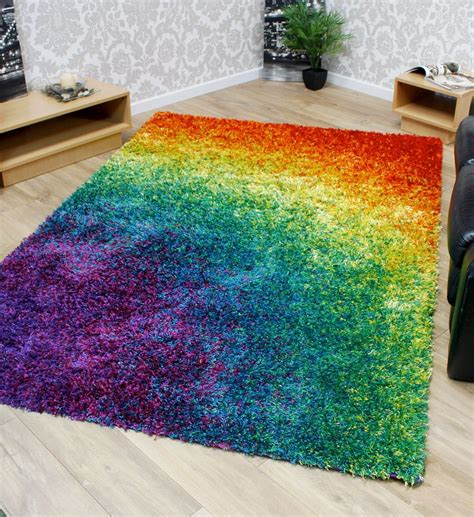 funky rainbow colored area rugs 6 vibrant rugs you have