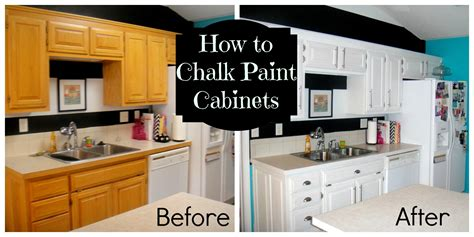 chalk paint cabinets kitchen how to chalk paint decorate my