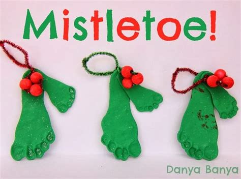 mistletoe craft for mistletoes danya banya