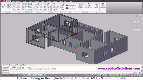 3d room builder autocad 3d house modeling tutorial 1 3d home design