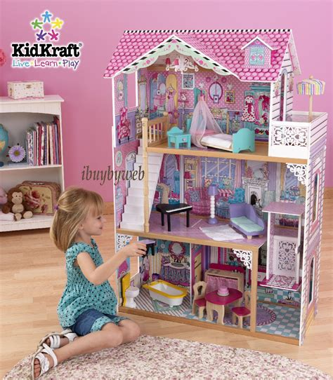 kid craft kidkraft 65079 annabelle dollhouse big large