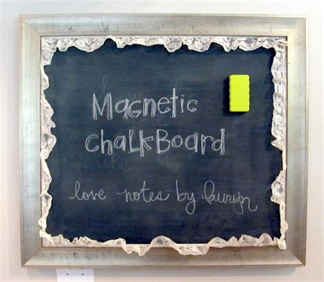 magnetic chalkboard paint b q notes by lauryn magnetic chalkboard tutorial how to