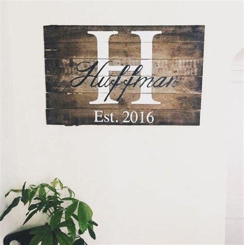 best 25 signs ideas on family canvas custom last name wall wall ideas