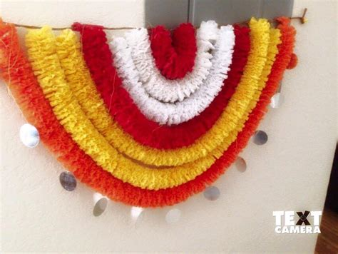 crepe paper craft ideas for crepe paper garlands using for decoration simple craft ideas