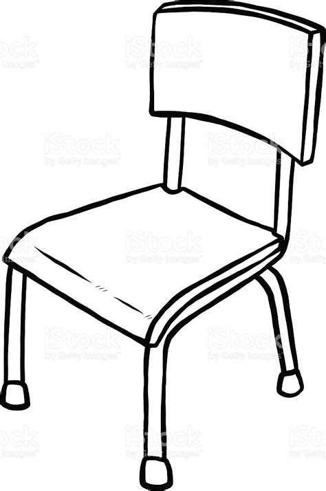 black and white desk chair white classroom chair clip clipart