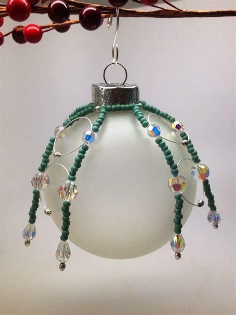 diy beaded ornaments softflexgirl diy free beaded ornament