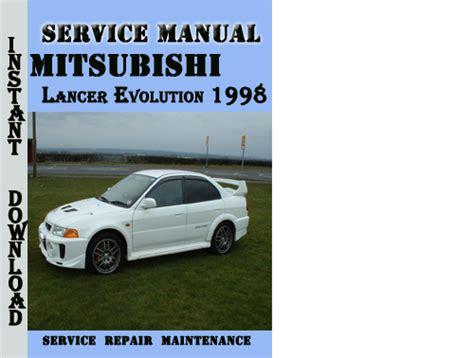 auto manual repair 1998 mitsubishi galant security system mitsubishi lancer evolution 1998 service repair manual pdf downl