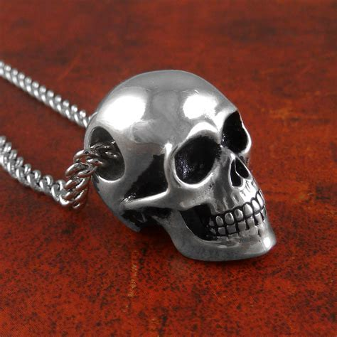 skull for jewelry human skull necklace antique silver skull jewelry on