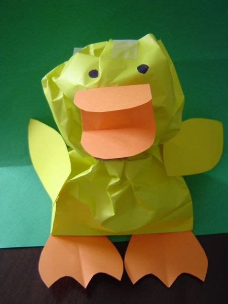 paper duck craft gitmo nation update easter easter crafts and