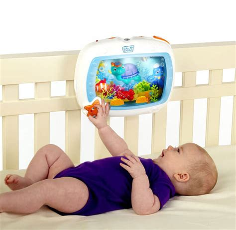 crib aquarium baby einstein aquarium soother for babies i want that momma