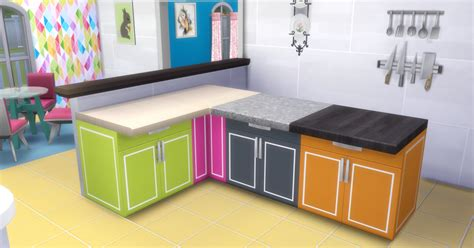 cool kitchen stuff my sims 4 cool kitchen stuff counters in 44 recolors