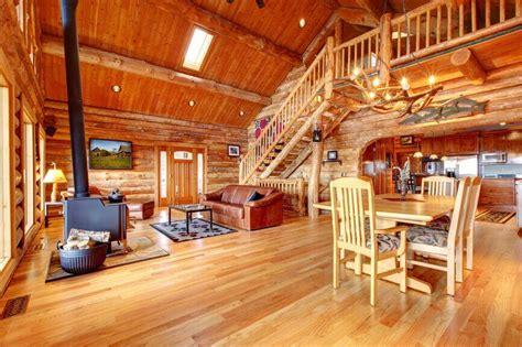 log homes interior 32 spectacular living room designs with exposed beams