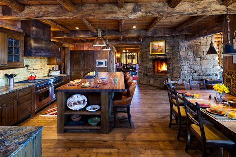 rustic kitchen design ideas spectacular rustic kitchen island decorating ideas gallery