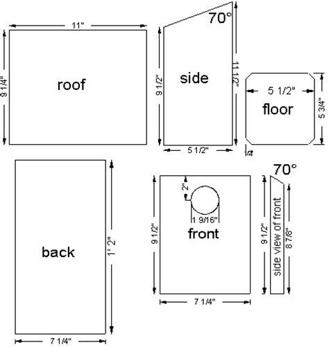 mountain bluebird house plans bluebird nest box plans