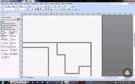 programa para fazer planta baixa ms visio aula 1 2 como criar uma planta baixa de layout