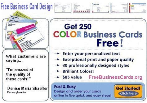 make a card and print free free business cards cheap business cards create free