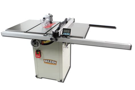 baileigh woodworking machinery baileigh hybrid table saw ts 1044h elite metal tools