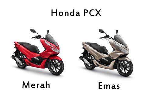 Pcx 2018 Warna Merah by Honda Pcx Merah Dan Emas Paling Spesial Mutiara Motor Honda