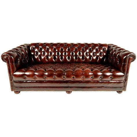 chesterfield tufted leather sofa chesterfield tufted leather sofa for sale at 1stdibs