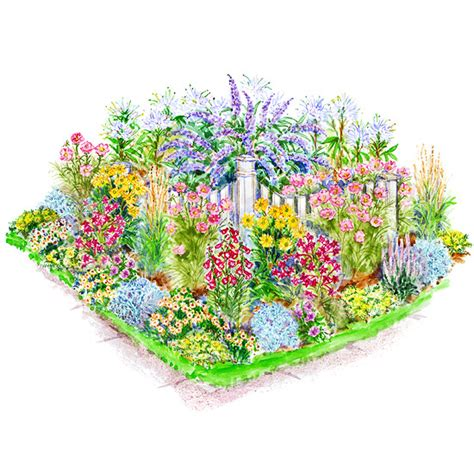 flower garden plans garden plans for birds butterflies