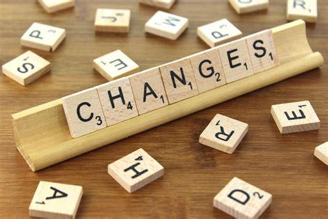 Changes Scrabble Letters