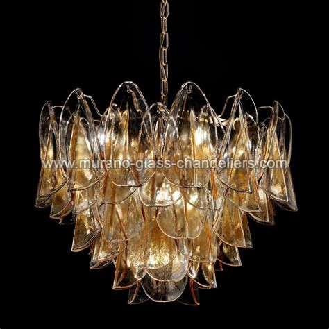 glass chandeliers quot janet quot murano glass chandelier murano glass chandeliers