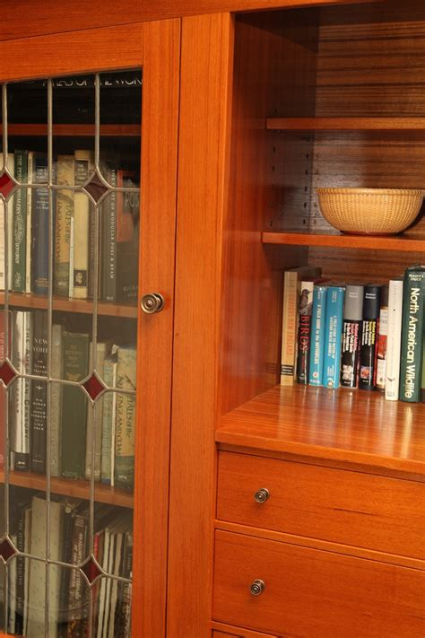 glass door tv cabinet kerr and sons tv cabinet bookcase with stained glass doors