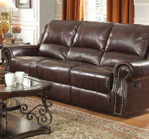 leather recliner sofas sofa astounding brown leather reclining 2017 design