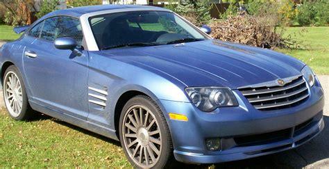 Chrysler Crossfire Wiki by File 2005 Chrysler Crossfire Srt6 Aeroblue Right Jpg