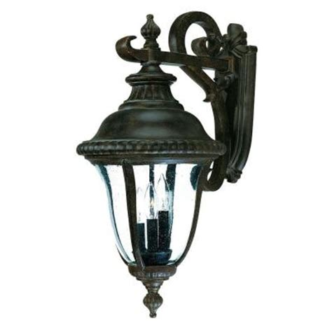 outside light fixtures home depot acclaim lighting collection wall mount 3 light