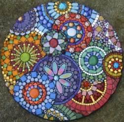 mosaic crafts for mosaic stepping stones on mosaic pots mosaic