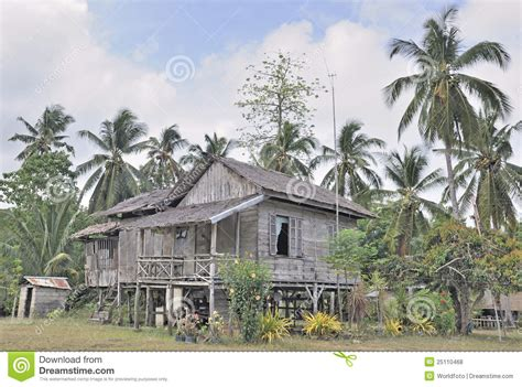 in philippines traditional rural house in philippines stock photo image