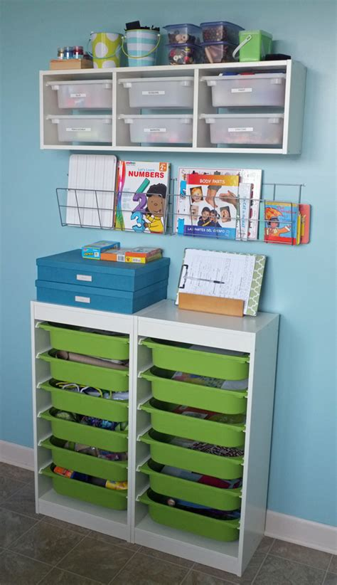 and crafts storage back to school projects teal and lime by jackie hernandez