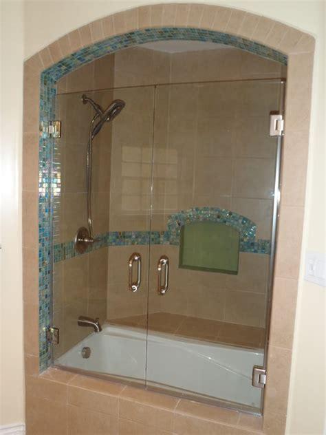 bathroom shower doors frameless frameless shower door traditional bathroom los