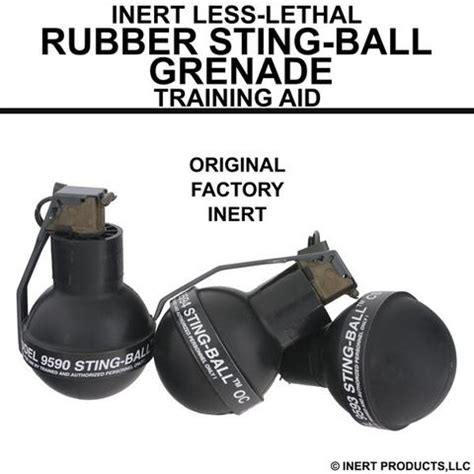 rubber sting kits inert products llc inert explosive products