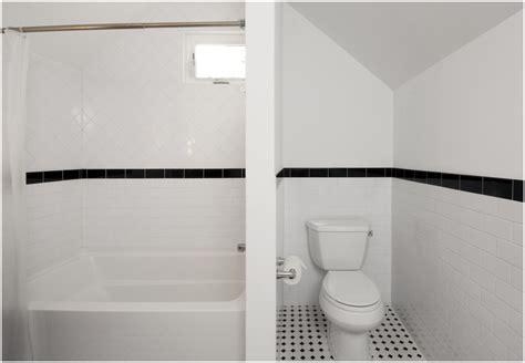 Black And White Bathroom Tile Ideas by Black And White Tile Bathroom Design Ideas Furniture