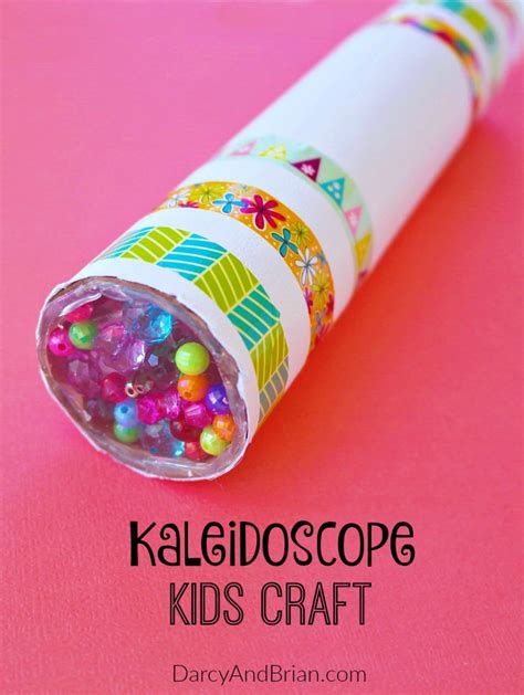 pictures of crafts diy kaleidoscope craft tutorial pictures