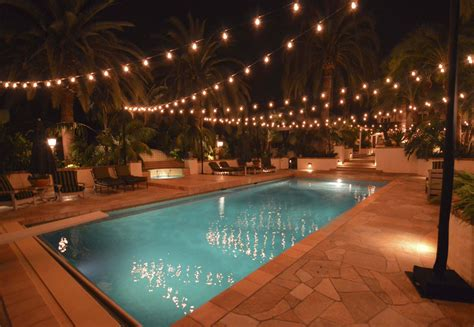 how to hang outdoor patio string lights hanging patio string lights a pattern of perfection