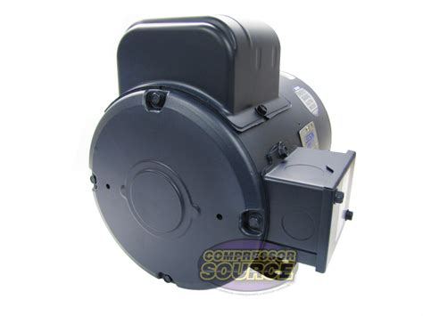 5 Hp Electric Motor by 5 Hp Single Phase Leeson Electric Compressor Motor 184t