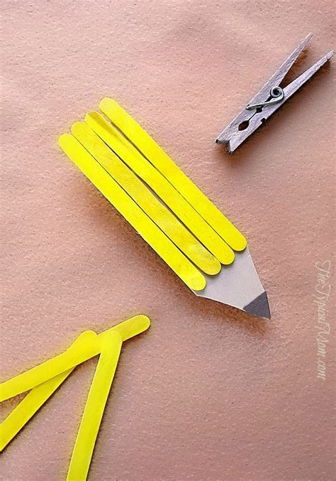 popsicle stick crafts for popsicle stick magnet craft 183 the typical