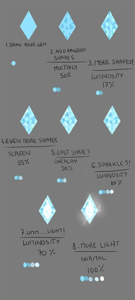paint tool sai glitter tutorial 224 best images about drawing gemstones on