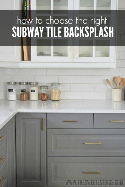 how to choose kitchen backsplash installing a subway tile backsplash in our kitchen the